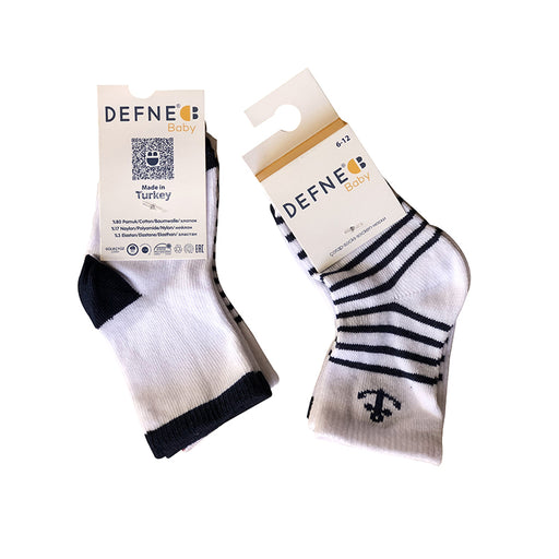 Mix Colored 2 Pairs Pack Of Socks for Infants - shopfils.com