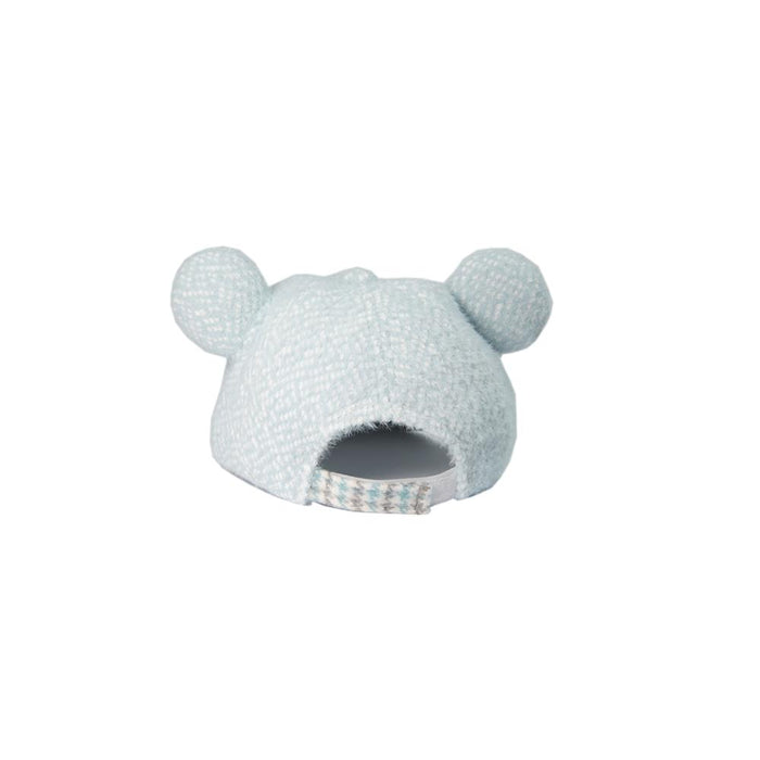 Babyqlo Bunny ears feature cap for little boys and girls - Sky