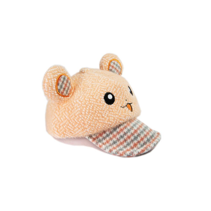 Babyqlo Bunny ears feature cap for little boys and girls - Orange