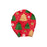 Babyqlo  Red and Green Printed infant turban caps