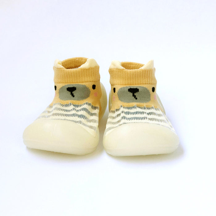 Babyqlo Soft-top Pool Shoes for Kids - Yellow