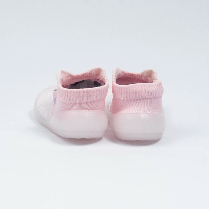Babyqlo Soft-top Pool Shoes for Kids - Pink