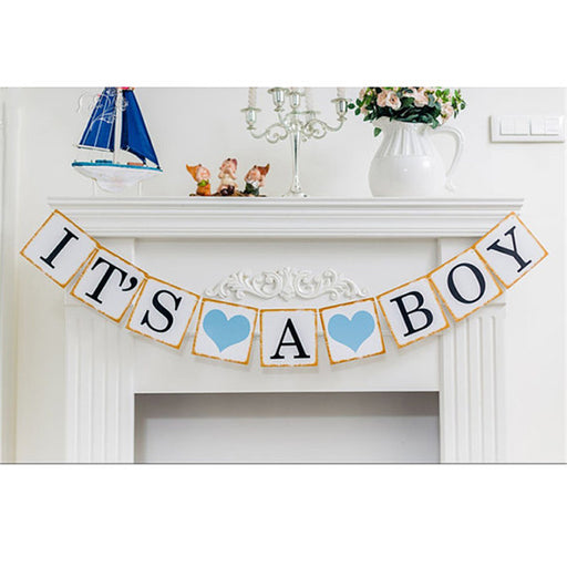 Baby Shower It's a Boy Photo Booth Props For Baby Boy - shopfils.com