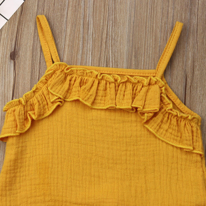 Cute Top with Shorts Set for Little Girls - shopfils.com