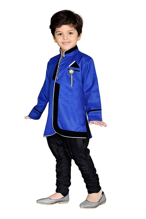 Royal Ethnic Kurta Pajama Party Set for Boys - shopfils.com