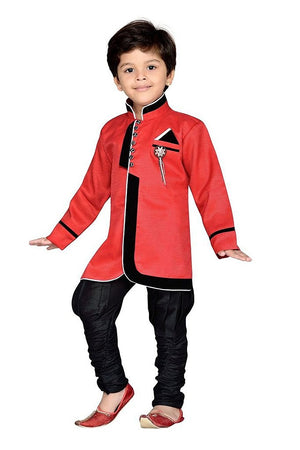Royal Ethnic Kurta Pajama Party Set for Boys