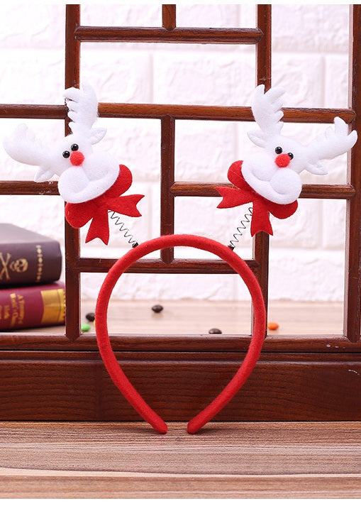 Reindeer style Christmas Props headbands for little girls