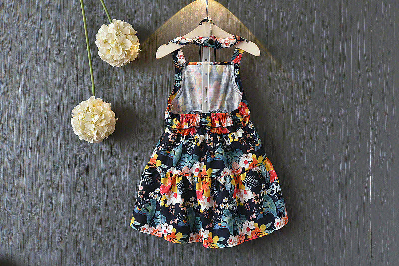 Printed Summer Tunic Dress for Girls - shopfils.com