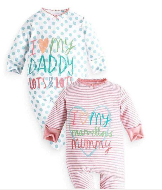 Printed Full Length Rompers for Little Babies - shopfils.com