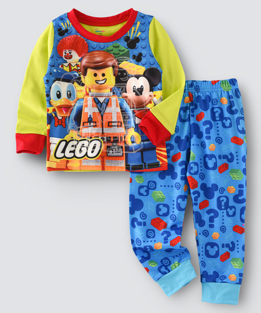 Lego Robo Printed Glow in the Dark Nightwear
