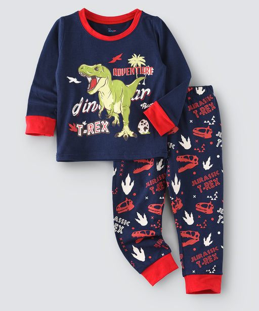 Dinosaur Printed Glow in the Dark Nightwear
