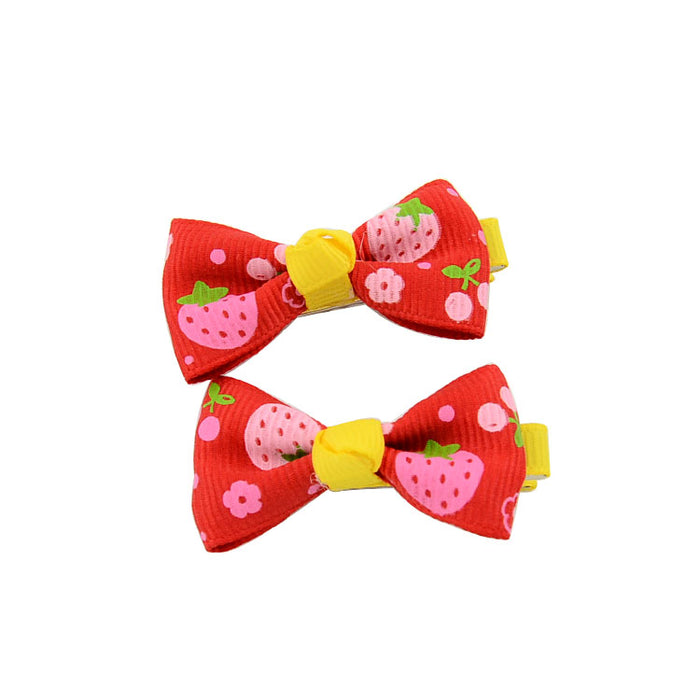 Multicolor Cute 10pcs Hair Clips Set for Baby Girls - shopfils.com