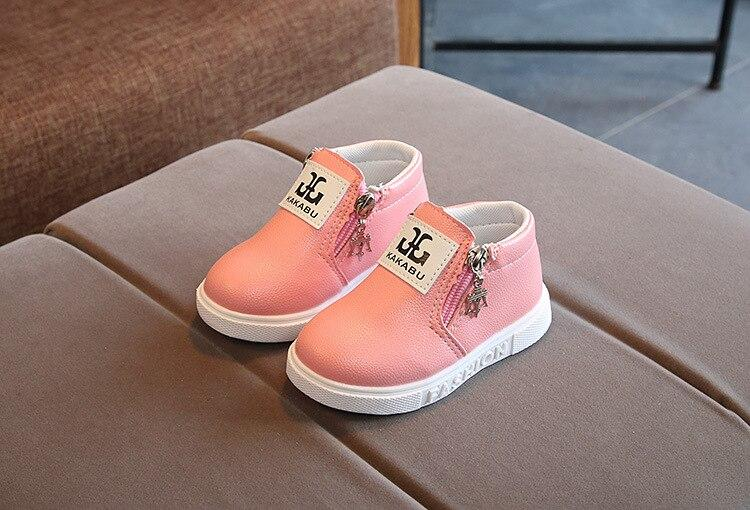 Easy slip on  Short Boots shoes for baby girls and boys - shopfils.com