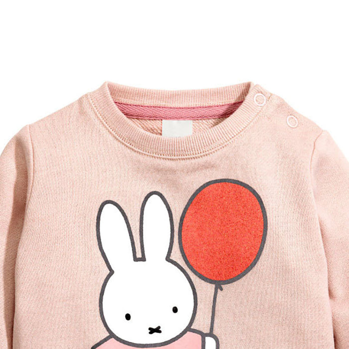 Bunny Printed Winter Tee for Girls - shopfils.com
