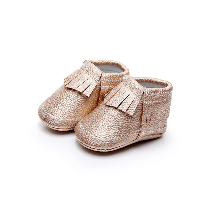 Slip on Shoes with Fringes for Infants - shopfils.com