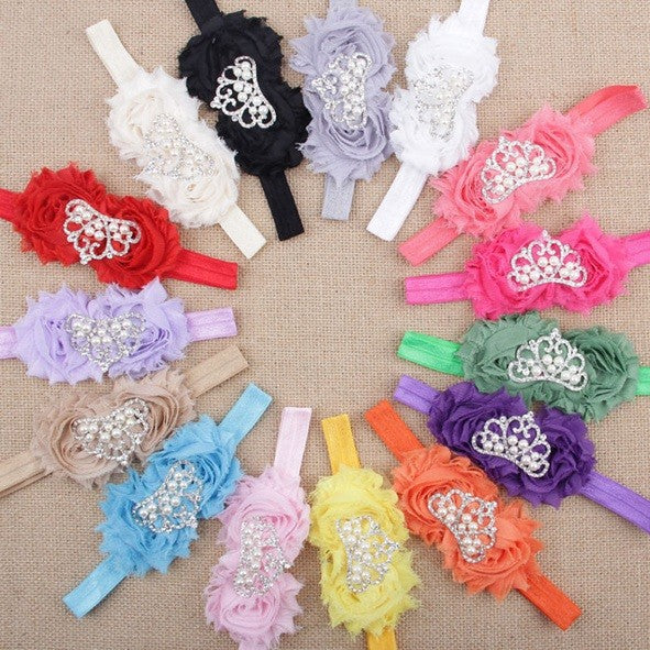Tiara Pearl Headbands - shopfils.com