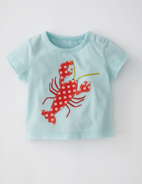Half Sleeved Tee - Lobster - shopfils.com