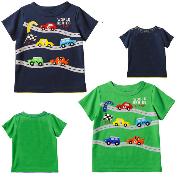 Half Sleeved Tee - Roadster for Boys - shopfils.com