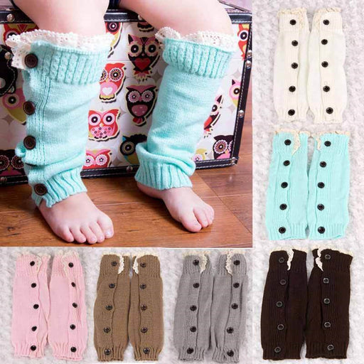 Knit leg warmer for little ones