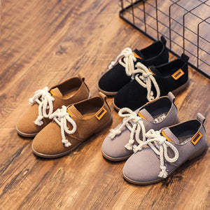 Lace-up Shoes for Little Boys