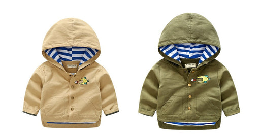 Plain Hoodie Style Jacket for boys - shopfils.com