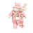 Piggy 3 Pcs Casual Winter Set for Kids - Pink - shopfils.com