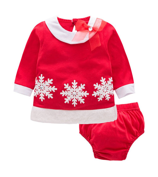 Little Christmas Angel Dress for Baby Girls