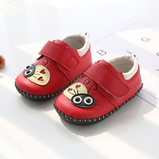 Cute Lady Bug  Shoes for Infants - Red - shopfils.com