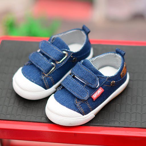 Denim Style Shoes for Little Kids - shopfils.com