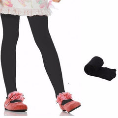 Black Soft Tights - Stockings for Baby Girls