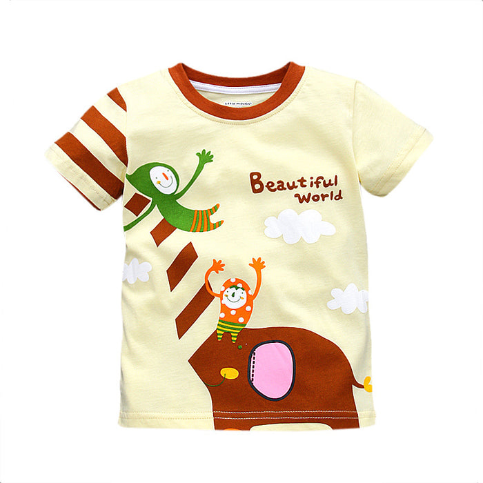 Character Printed Tee - Beautiful World - shopfils.com