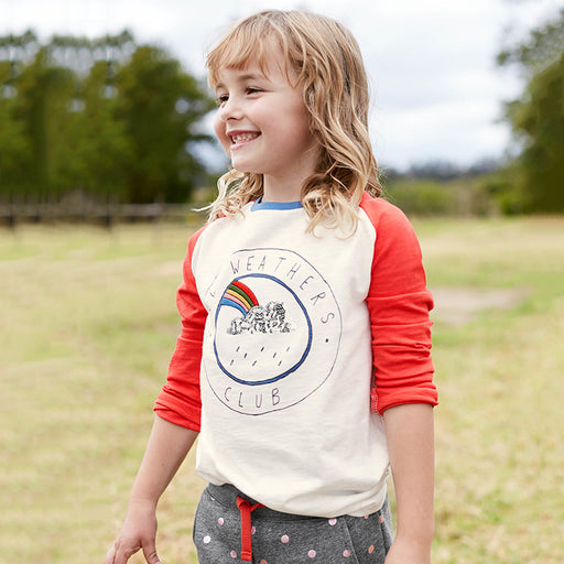 Weathers Club Full Sleeve Tee for Girls - shopfils.com