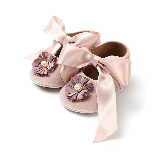 Beautiful Flower Party pre walker soft sandals for baby girls Sandals - shopfils.com