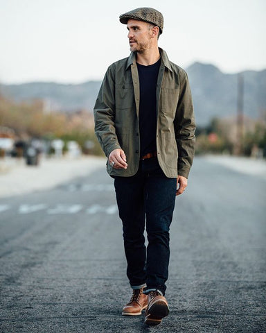 Men's Style Tips with Leather Boots - Helm Boots
