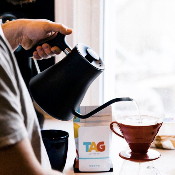 we wanted to feature TAG because their coffee is stellar and the packaging is perfect for gifting