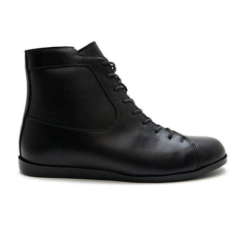 men's leather boots for snow