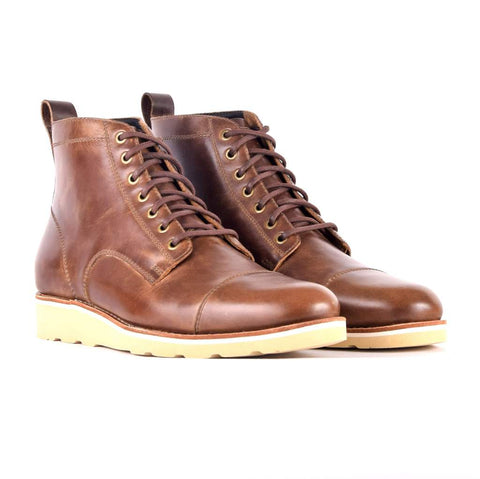 men's leather urban boots