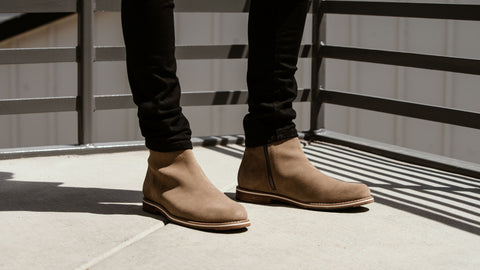 Classy but Laid,Back Mens Casual Boots to Wear with Jeans