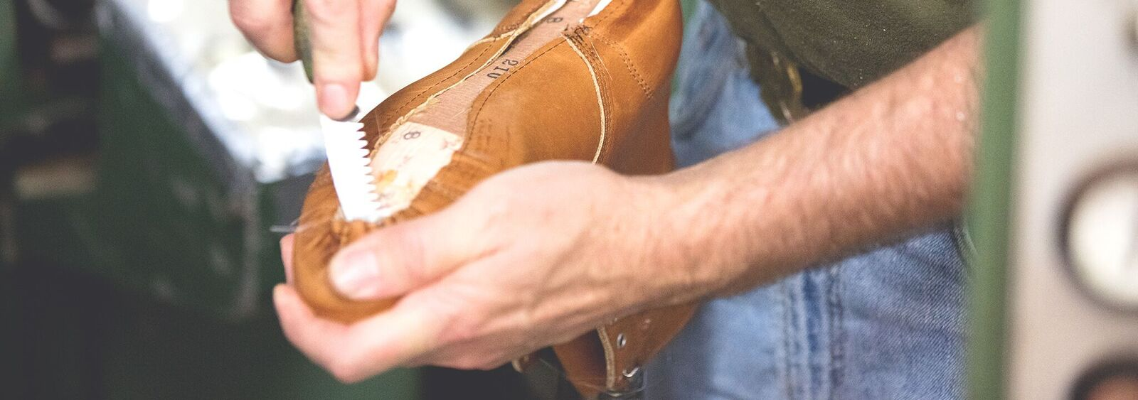Boot Lasting at the Factory