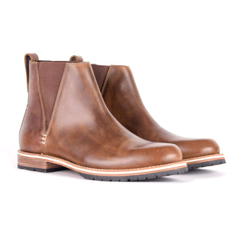 HELM Boots Holt Dark Natural