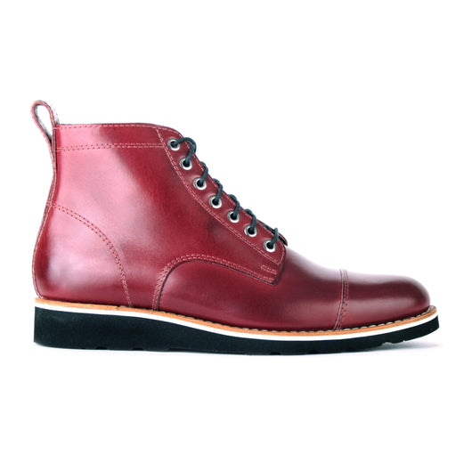 HELM Boots Lou Burgundy
