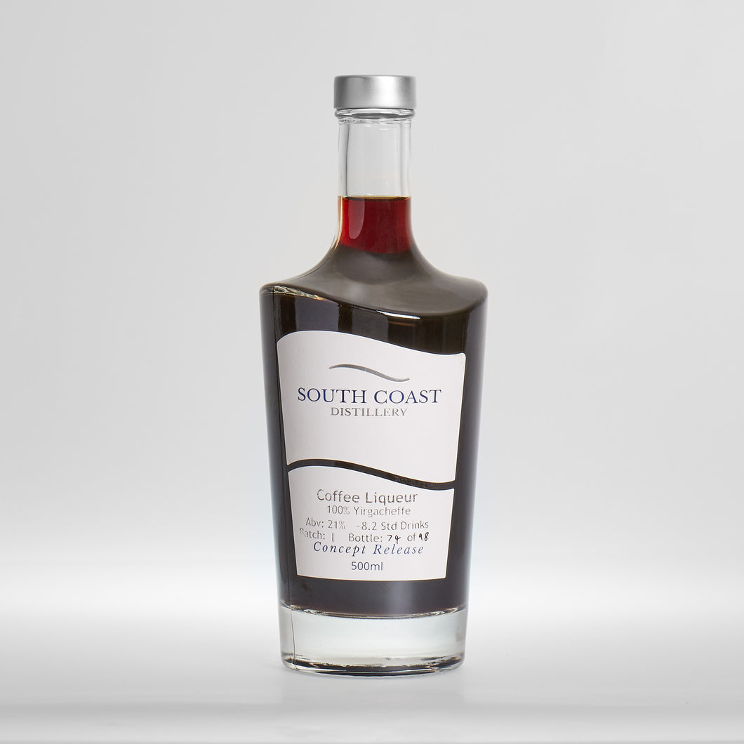 Single Origin Coffee Liqueur
