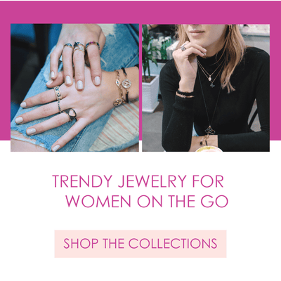 Trendy, affordable jewelry for modern women on the go. Based out of NYC. Hannah B by Hannah Bender