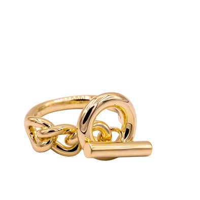 Chunky Cuban Chain Link Ring
