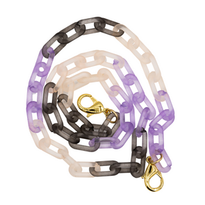 Medium Acrylic Matte Triple Color Mask Chain