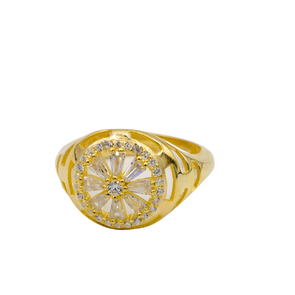 The Gold Flower Ring