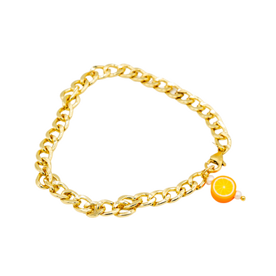 The Gold Chain Tutti Fruity Anklet