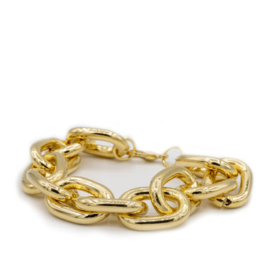 18K Gold Filled Extra Large Chain Bracelet