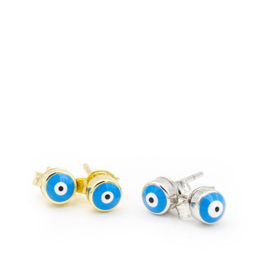 Extra Mini Evil Eye Studs