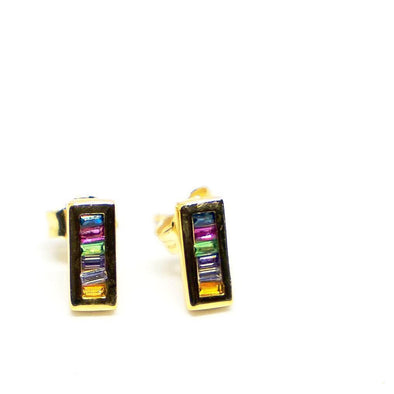 Mini Bar Rainbow Earrings - Hannah B by Hannah Bender